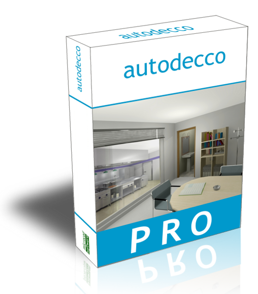 Autodecco the interior design software Professional interior design software